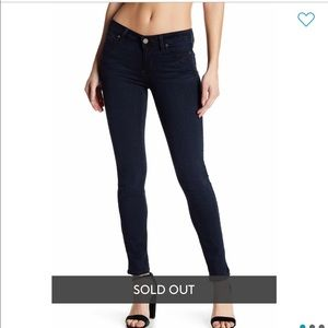 🆕 Paige Jeans Low Rise and Super Soft Dark Jeans